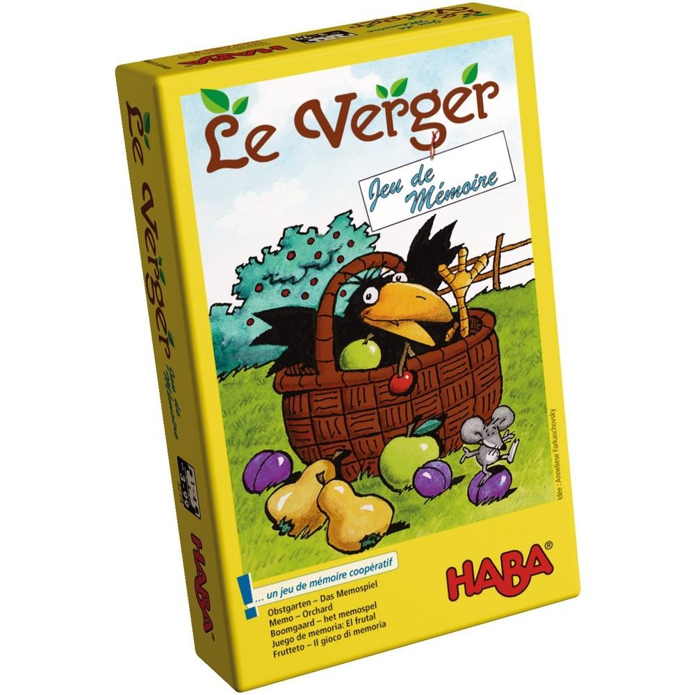 Haba - Le Verger Jeu De Mémoire