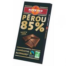 Alter éco - Chocolat Noir Bio 85 % Cacao 100g