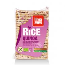 Lima - Organic Rice Cakes with Quinoa 130g
