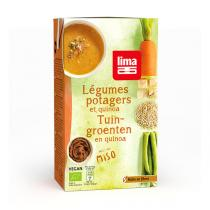 Lima - Gartengemüsesuppe mit Quinoa 1L