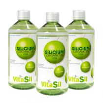 Vitasil - Lot de 3 Silicium Organique Bio-Activé Tripack 3 x 500ml