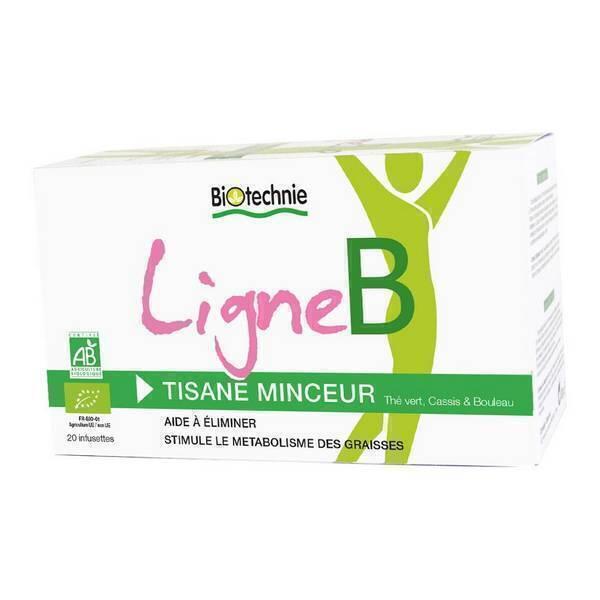 Biotechnie - Infusion Minceur Ligne B 20 Sachets