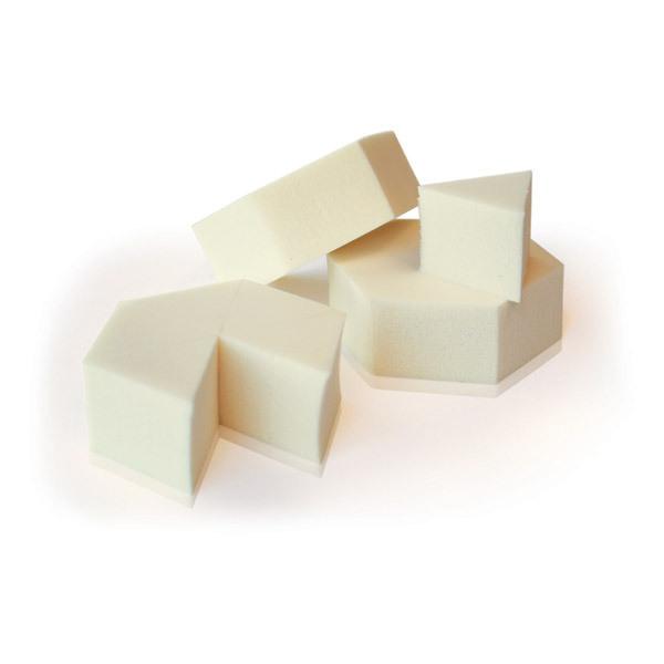 Couleur Caramel - Éponge naturelle prédécoupée