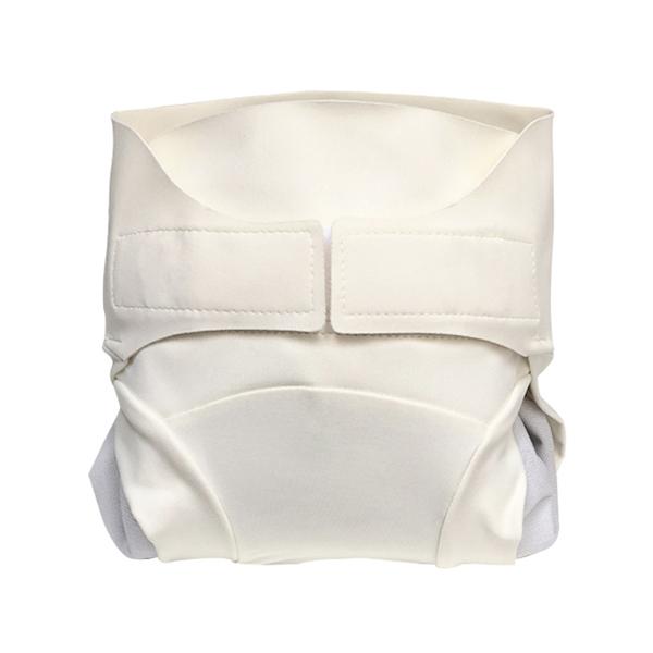 Hamac - Kit couche-culotte hybride lavable Chocolat Blanc XS