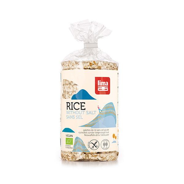 Lima - Gallette di riso senza sale 100g