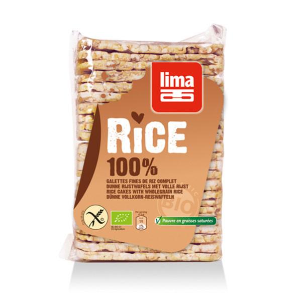 Lima - Wholegrain Rice Cakes 130g