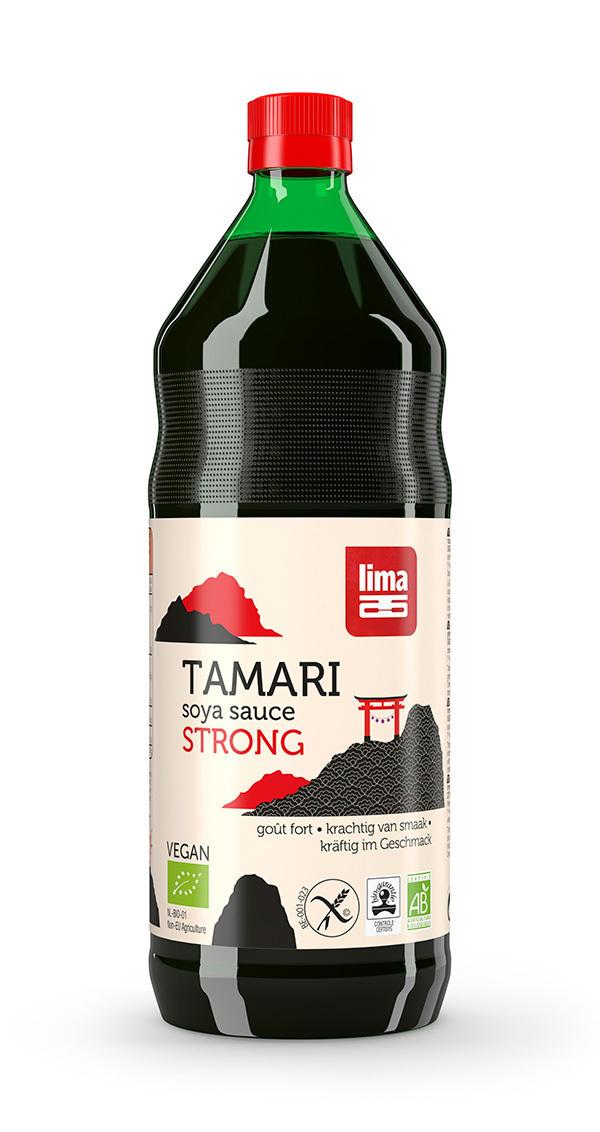 Lima - Organic Tamari Soya Sauce Strong 1L