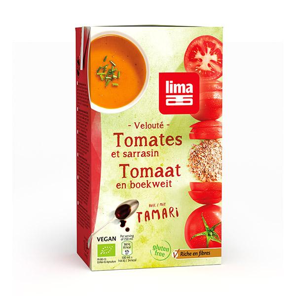 Soupe tomate aux flocons de sarrasin 1l lima acheter sur - Soupe de tomate maison ...
