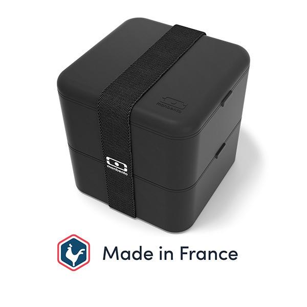 monbento - Boîte bento carrée MB Square Noir Onyx 1,7L