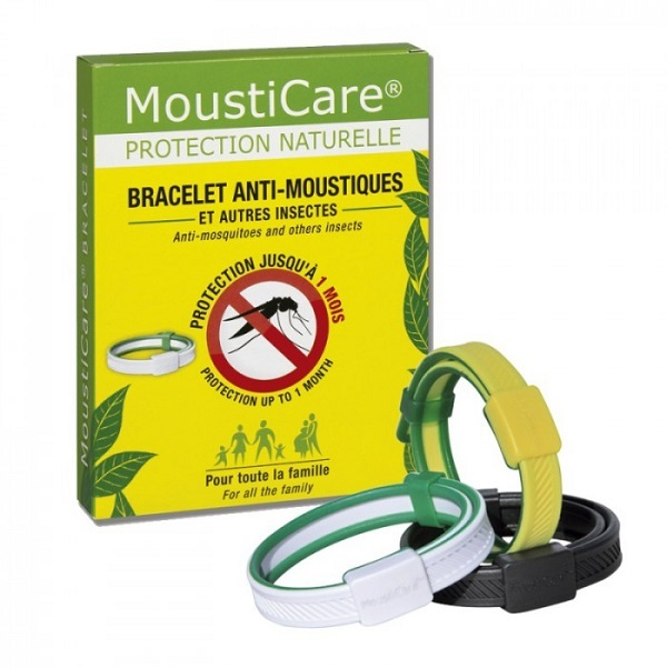 Mousticare , Bracelet anti,moustiques ajustable. Loading zoom