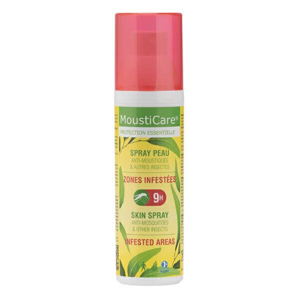 Mousticare - Spray Peau anti-moustiques Zones infestées 75 ml