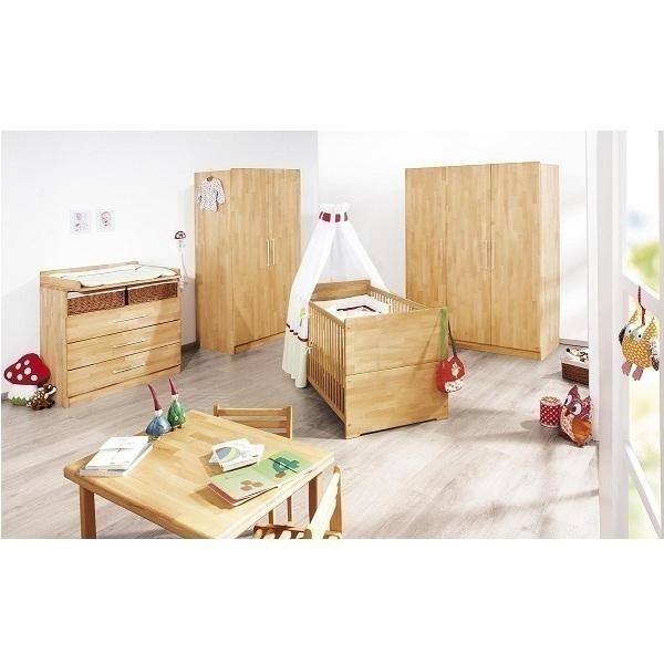 Chambre compl te natura 3pcs pinolino acheter sur for Acheter chambre complete