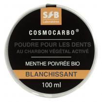 Laboratoires SFB - Poudre de Charbon pour blanchiment des dents – Menthe bio 100ml