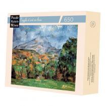 Michèle Wilson - Montagne Sainte Victoire de Cézanne