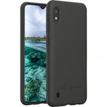 Just Green - Coque Biodégradable Noire pour Samsung G A10 Just Green