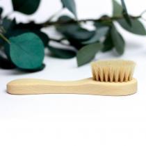 Ecogift - Brosse nettoyante pour le visage en poils 100% naturels