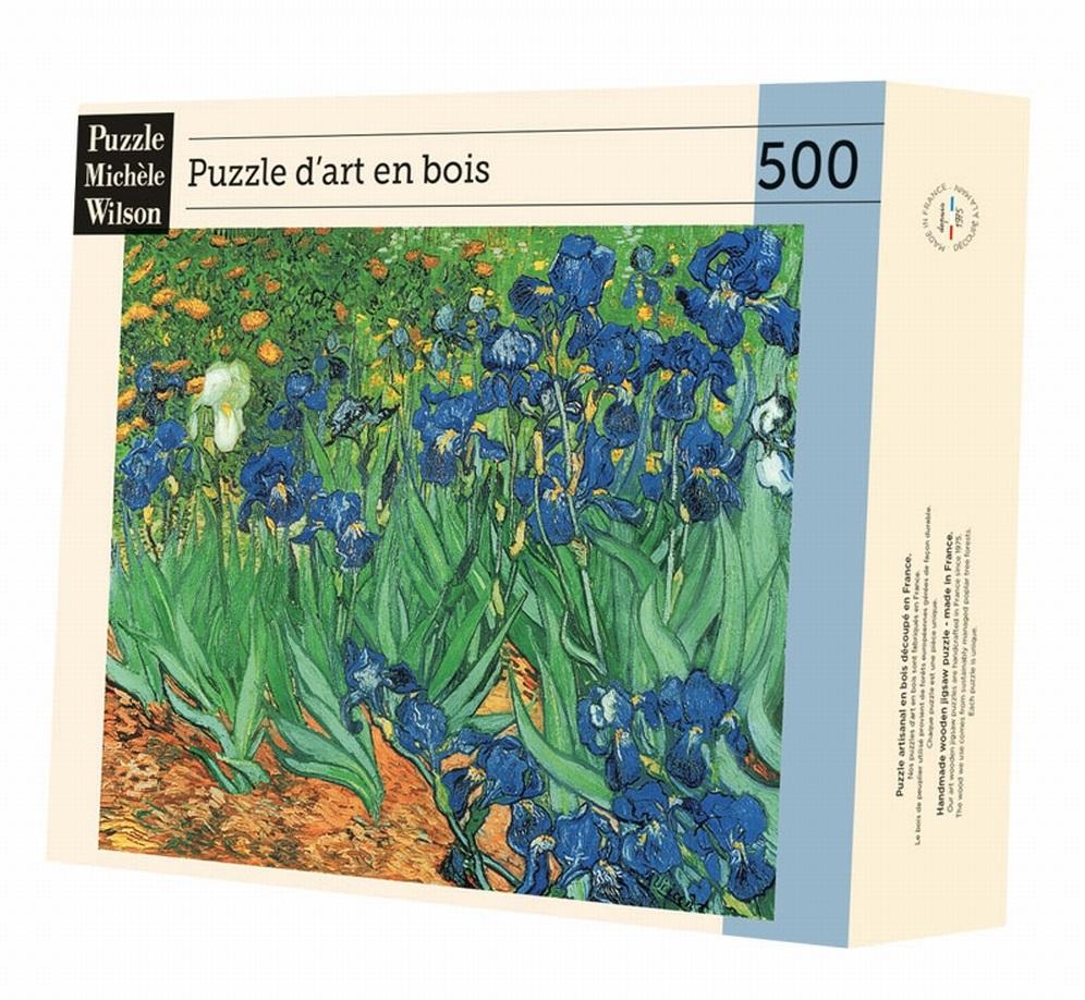 Michèle Wilson - Les iris de Van Gogh