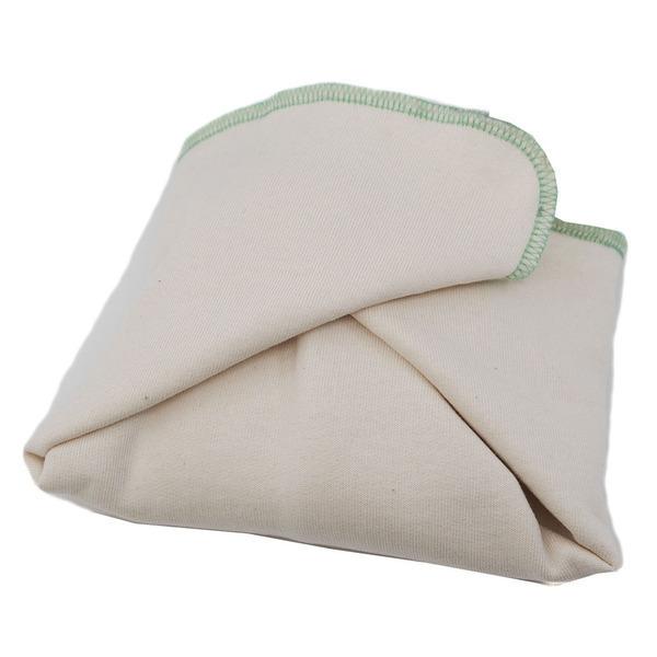 Ozero - Couche plate en coton bio Ozéro - Naissance-Vert
