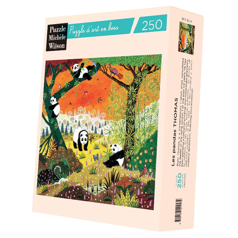Michèle Wilson - Les pandas d'Alain Thomas
