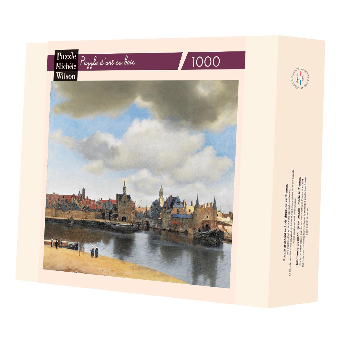 Michèle Wilson - Vue de Delft de Vermeer