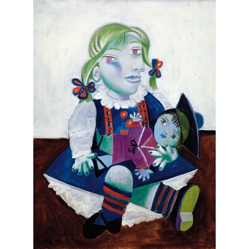 Michèle Wilson - Maya à la poupée de Picasso