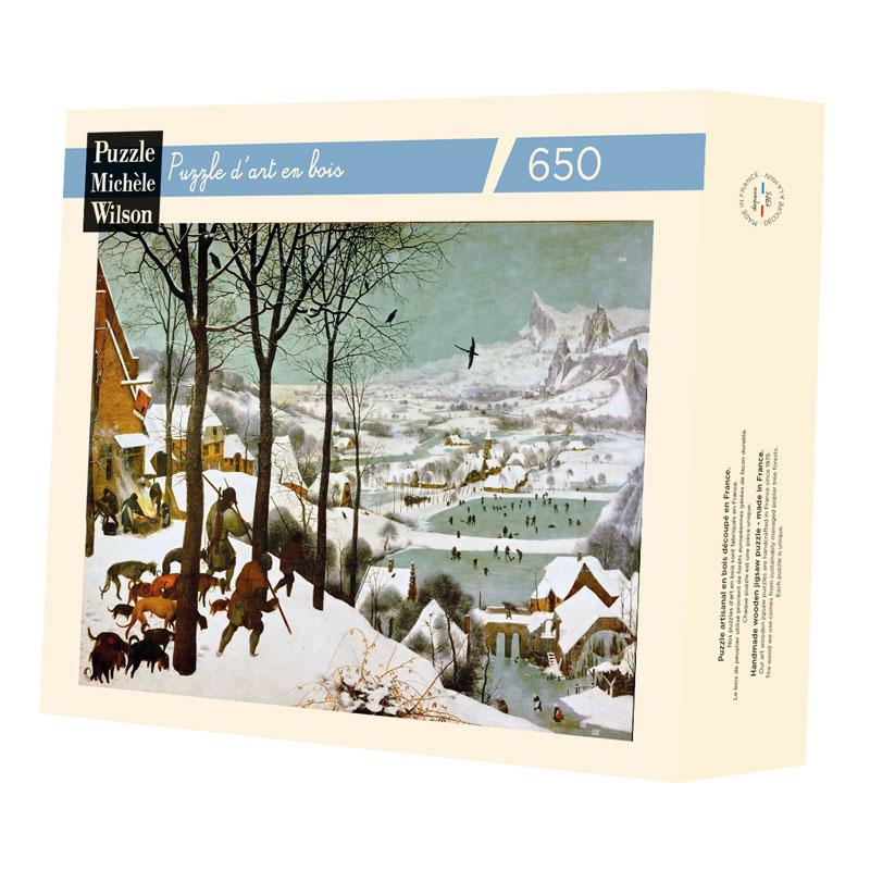 Michèle Wilson - Chasseurs dans la neige de Bruegel