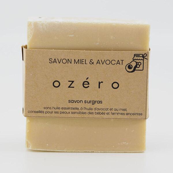 Ozero - Savon surgras très doux Miel et avocat Ozéro
