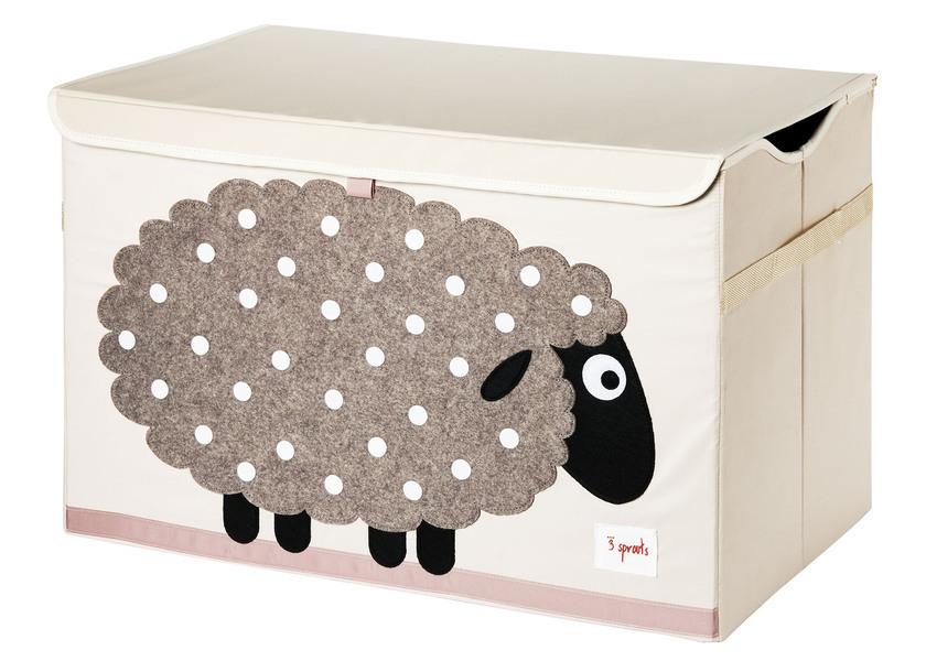 3 Sprouts - Coffre à jouets mouton