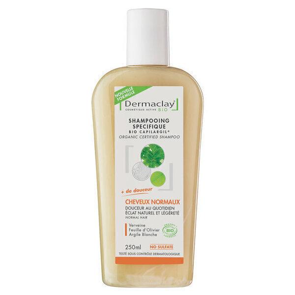 Dermaclay - Shampoing Bio Capilargil Cheveux Fréquent Cheveux normaux 250ml
