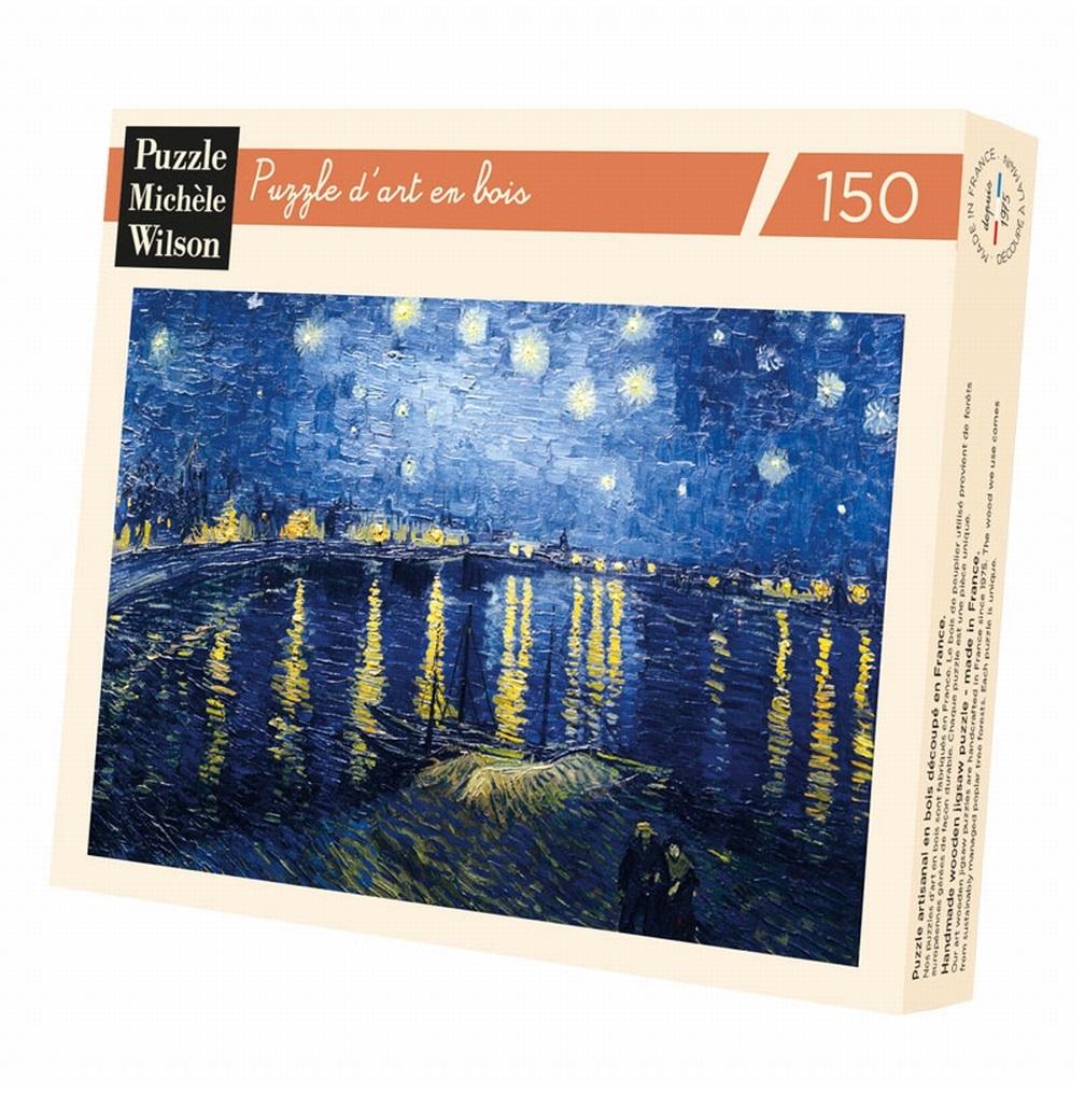 Michèle Wilson - Nuit étoilée sur le Rhône de Van Gogh