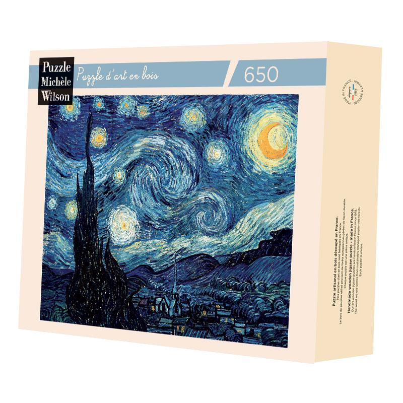 Michèle Wilson - Nuit étoilée de Van Gogh