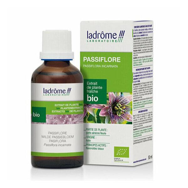 Ladrôme - Passiflore - Extrait de plante fraîche bio 50ml