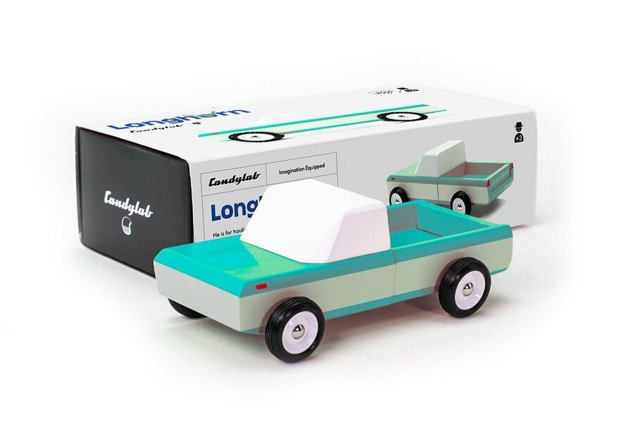 Candylab Toys - Pick-up Longhorn Teal