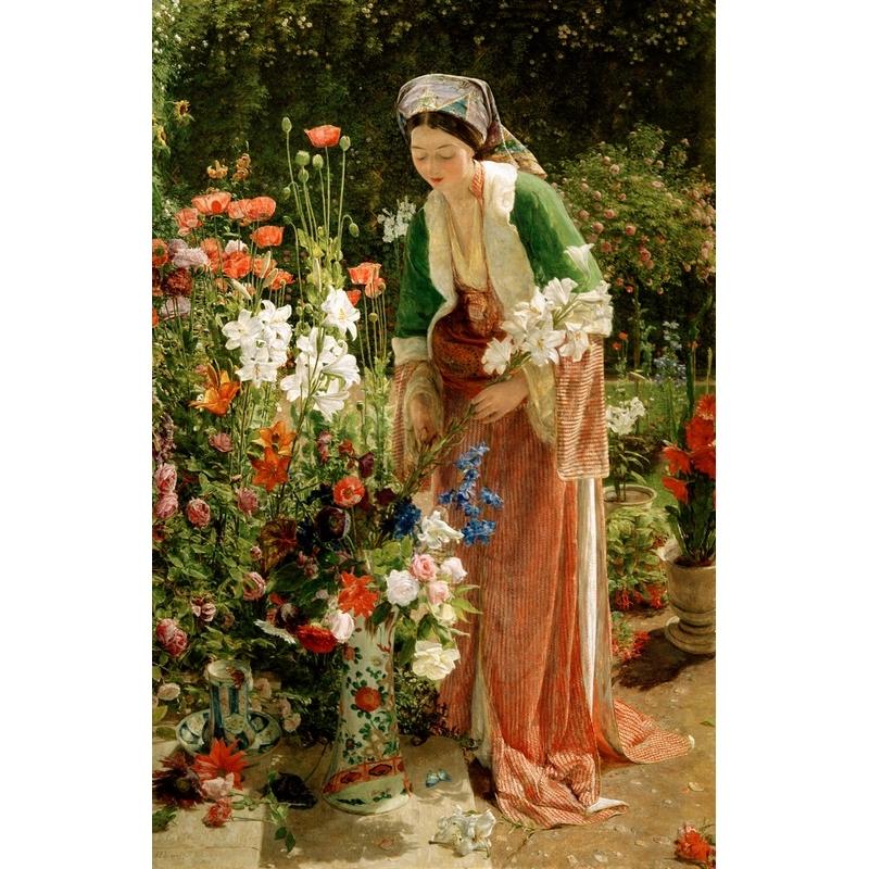 Michèle Wilson - Dans le jardin