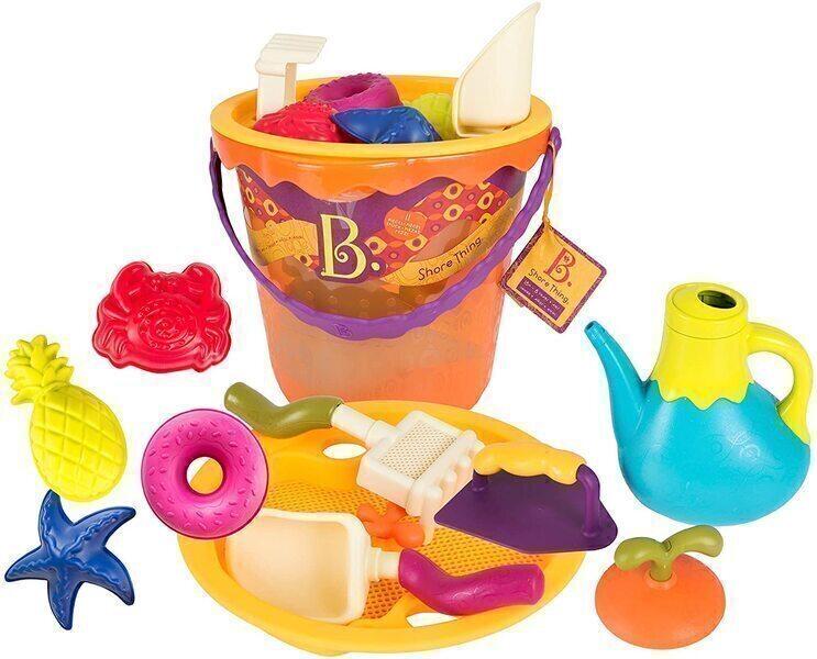 B.Toys - Set de plage orange XL