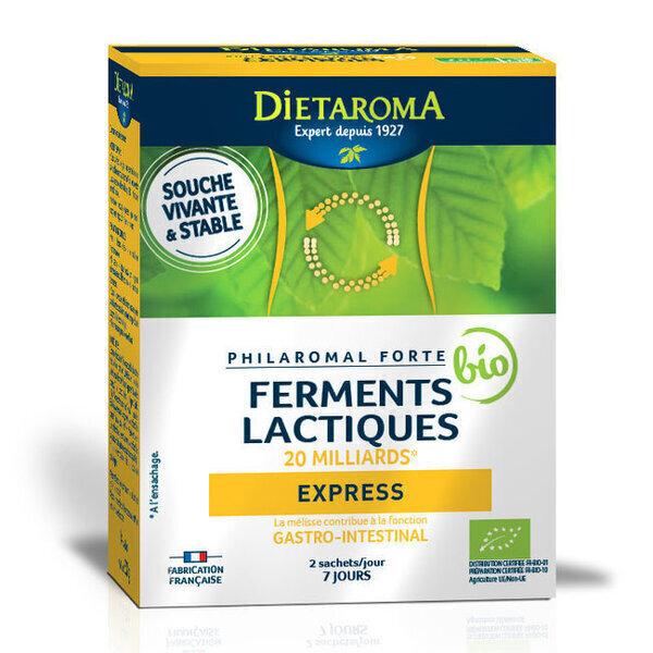 Dietaroma - Philaromal Forté bio Express - 20 milliards - 14 sachets