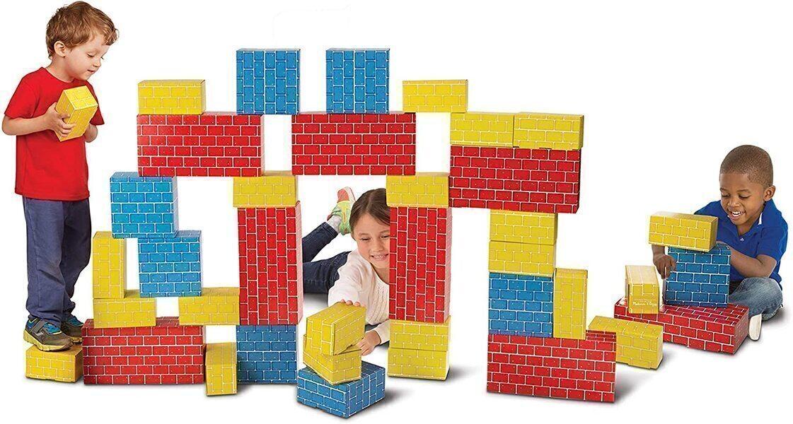 Melissa & Doug - 40 Blocs de carton géants