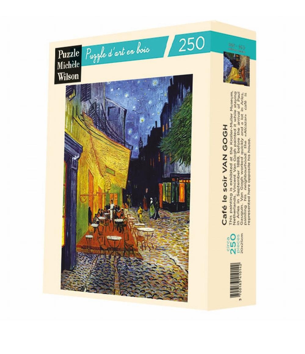 Michèle Wilson - Le café le soir de Van Gogh