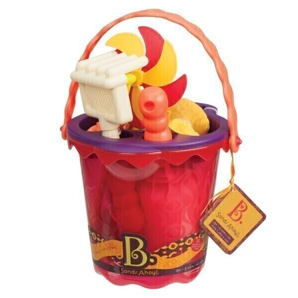 B.Toys - Set de plage rouge
