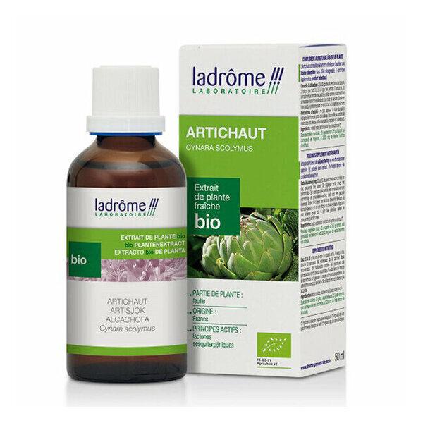 Ladrôme - Artichaut - Extrait de plante fraîche bio 50ml