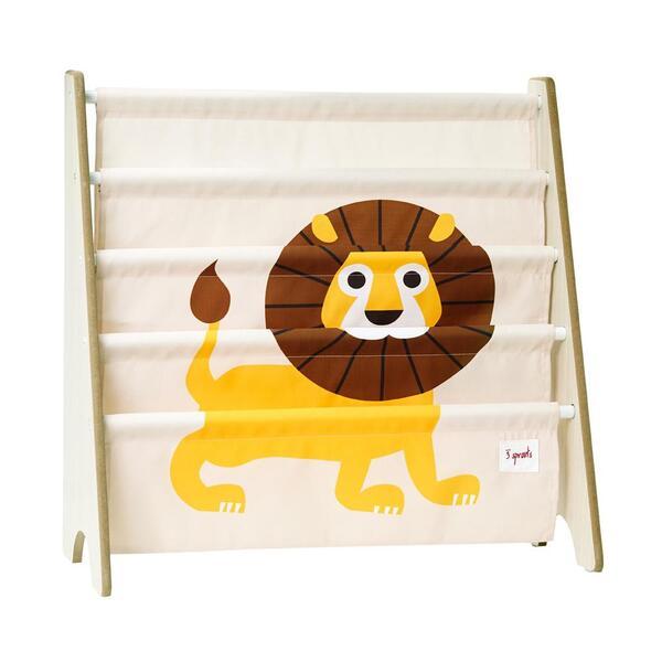 3 Sprouts - Rangement livres Lion