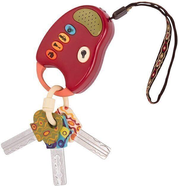 B.Toys - Porte-clés voiture enfant