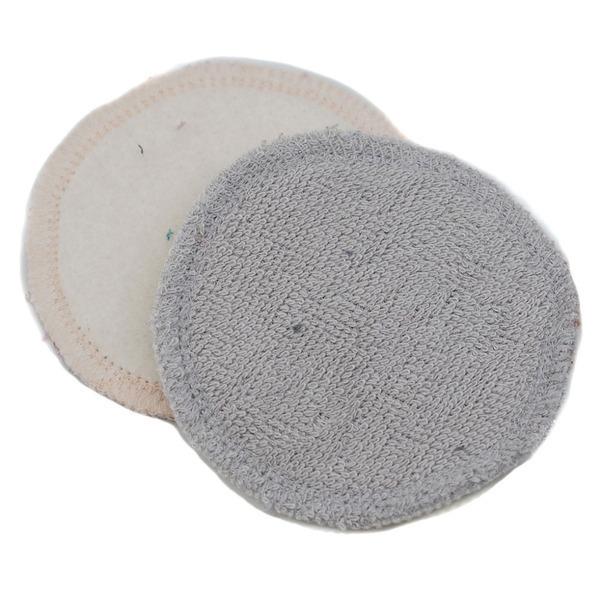 Ozero - lingette démaquillante lavable bambou/coton bio Ozéro-gris clair