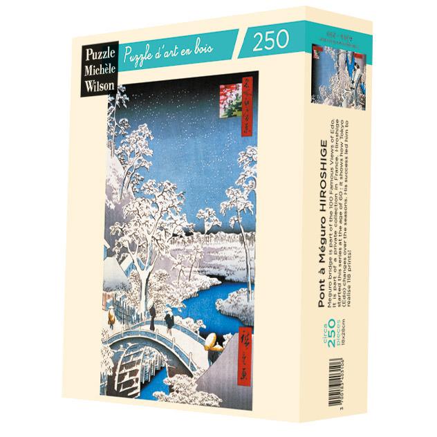 Michèle Wilson - Le Pont à Meguro de Hiroshige
