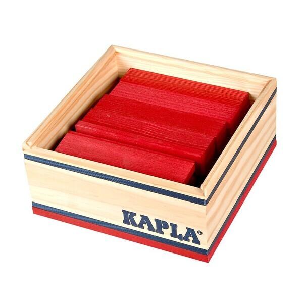 Kapla - Carré 40 Rouge