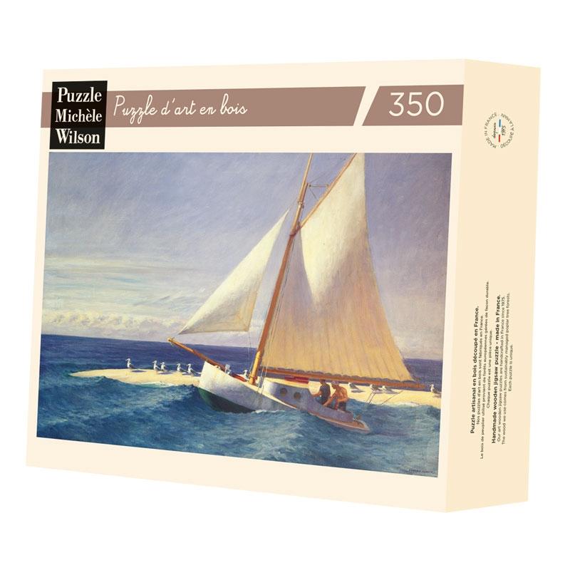 Michèle Wilson - Le bateau à voile de Hopper