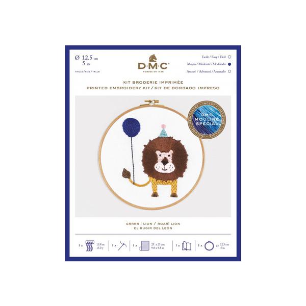 DMC - Kit broderie  Grrrr Lion