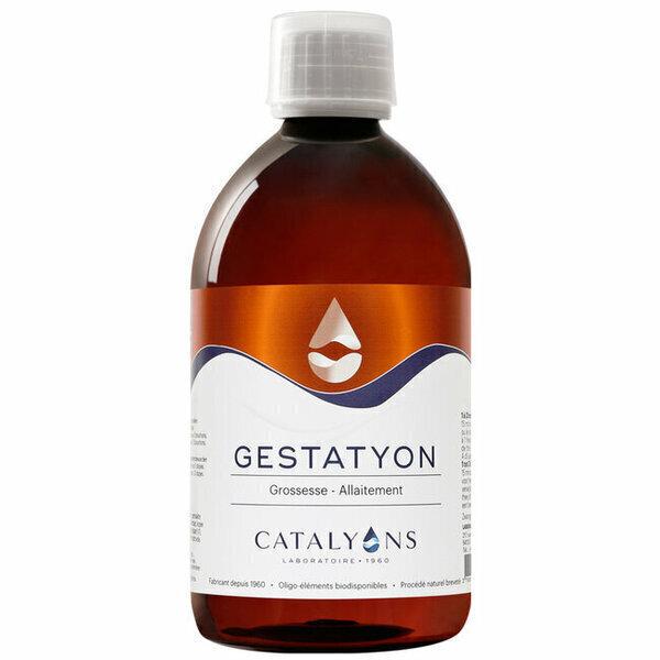 Catalyons - Gestatyon - Oligo éléments Femme enceinte et allaitante - 500 ml