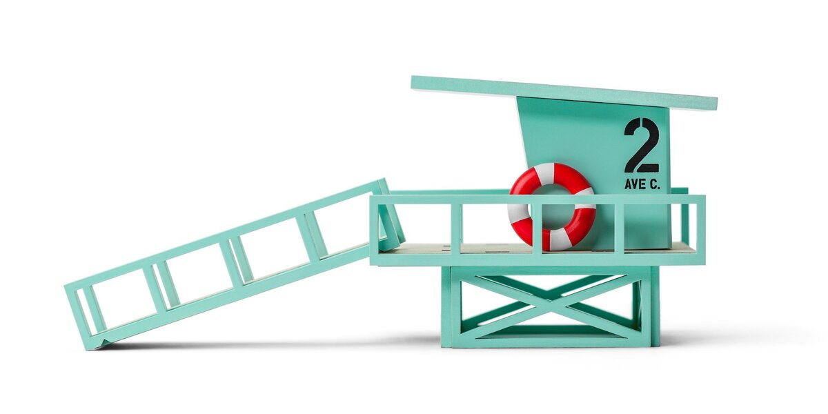 Candylab Toys - Cabane des sauveteurs Malibu