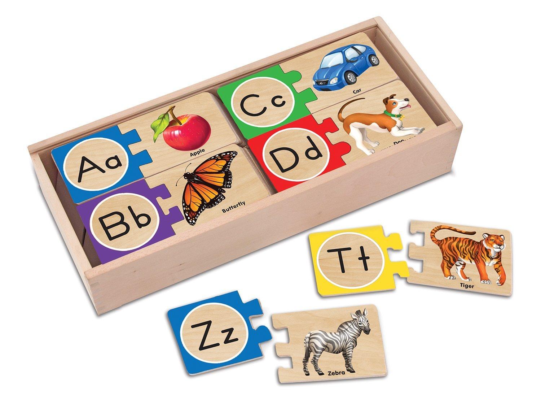 Melissa & Doug - Puzzle Alphabet Anglais